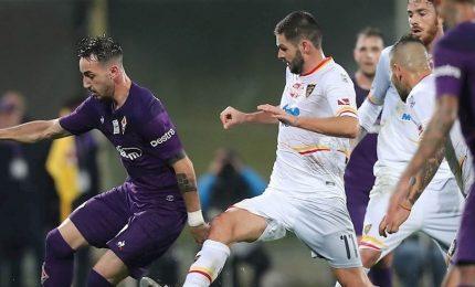 Fiorentina-Lecce 0-1, segna La Mantia. E' crisi viola