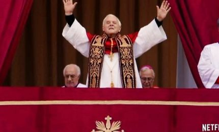 "Ratzinger e Bergoglio , ""I due Papi"" in sala con Hopkins e Pryce"