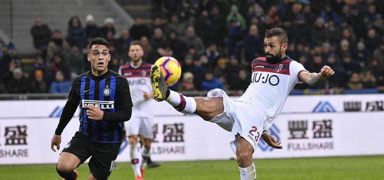 """Inter ingrana la """"sesta"""", Lukaku stende Bologna"""