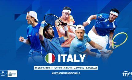 La nuova Coppa Davis al via a Madrid, subito Italia-Canada