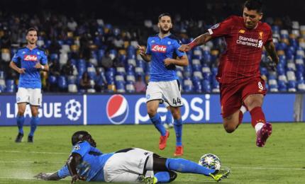 Napoli ferma il Liverpool, ora basta un punto
