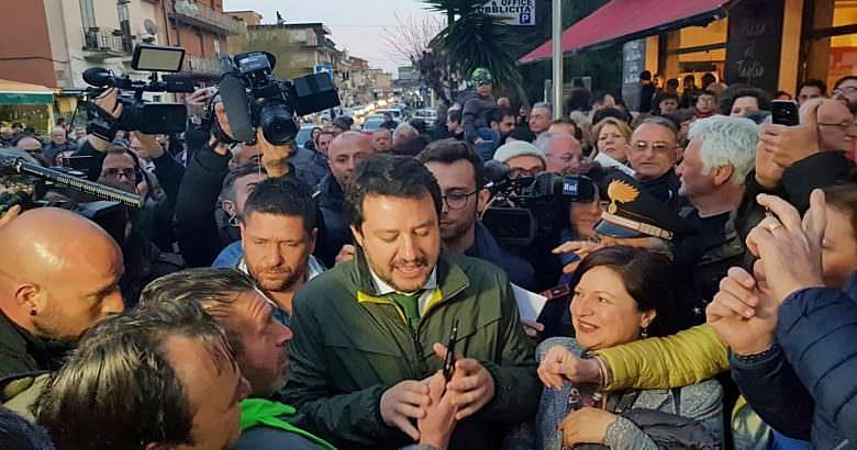"""Salvini non conferma incontro con Segre, la vedrò più avanti. Meloni alla senatrice: """"FdI è al suo fianco"""""""