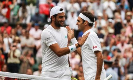 Berrettini contro Federer-Djokovic, un sogno
