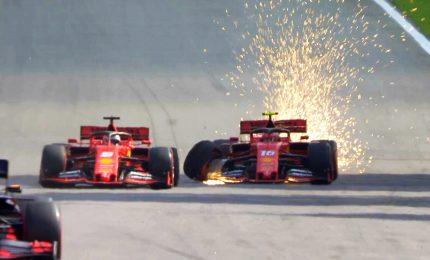 Verstappen in trionfo, Disastro Vettel-Leclerc nel finale