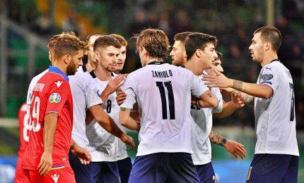 Italia da record, 9-1 ad Armenia, en plein verso Euro 2020
