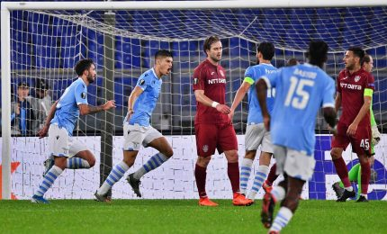 Europa League, Lazio batte Cluj 1-0 e spera ancora