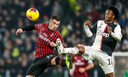 Juventus-Milan 1-0, bianconeri tornano in vetta alla classifica