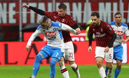 Il Milan resiste, il Napoli non risolve la crisi