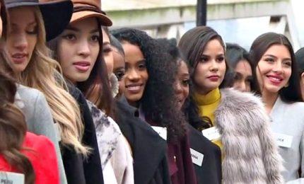 A Londra le finaliste della 69esima edizione di Miss Mondo