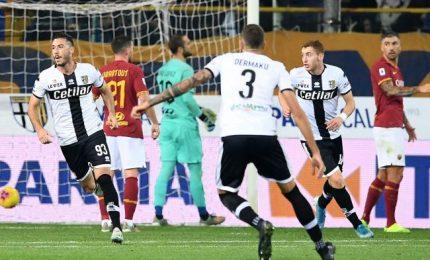 La Roma sprofonda a Parma, Sprocati e Cornelius puniscono Fonseca