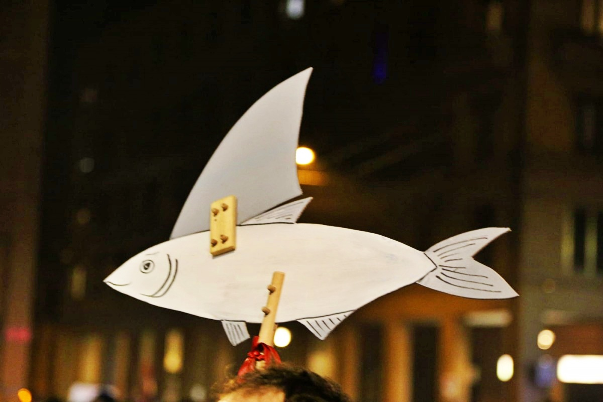 Cara sinistra, le sardine ce l'hanno soprattutto con te