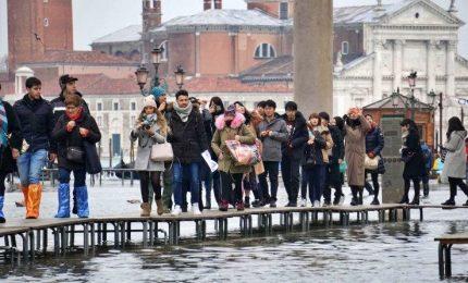 Torna acqua alta a Venezia. L'Europa, non c'e' piu' tempo