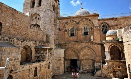 Gerusalemme, presto il restauro completo del Santo Sepolcro
