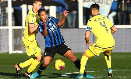 Atalanta-Verona 3-2, Djimsiti al 93' risolve il match