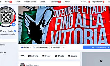 Chiusa pagina CasaPound, Facebook presenta reclamo contro ordinanza del Tribunale
