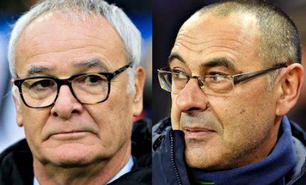 Anticipo Samp-Juve, prima sfida 'italiana' Ranieri-Sarri