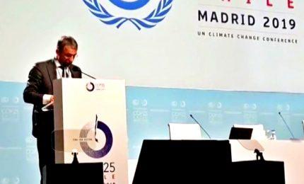 Ministro Costa a Cop25: ridurre emissioni necessità imperativa