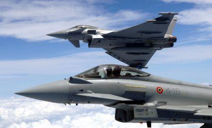 Difesa aerea, in volo con gli Eurofighter dell'Aeronautica