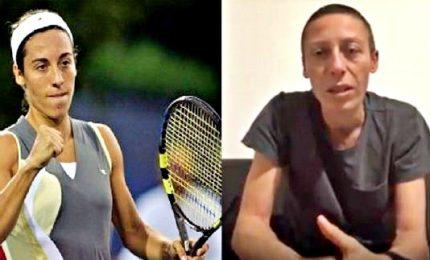 """La tennista Schiavone: """"Ho vinto la lotta contro il cancro"""""""