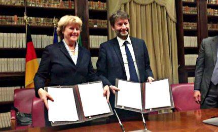 Franceschini: con la Germania per rafforzare caschi blu cultura