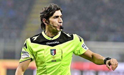 Calvarese per Inter-Roma, Lazio-Juve a Fabbri