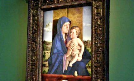 """In mostra la """"Madonna di Alzano"""" di Bellini"""