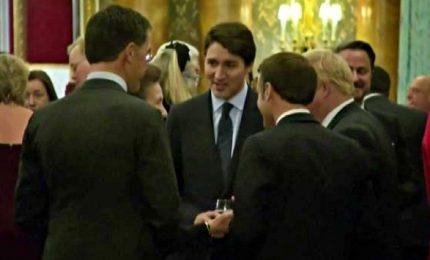 Trudeau, Macron e Johnson spettegolano su Trump al summit Nato