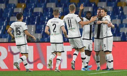 Napoli-Parma 1-2, Gattuso esordio in azzurro con sconfitta