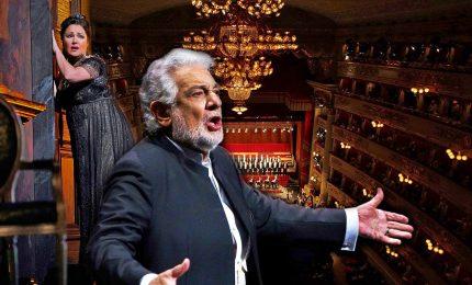 Scala celebra Placido Domingo, e' standing ovation