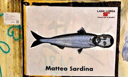 "Liliana Segre e Matteo ""Sardina"", i murales di TvBoy a Milano"