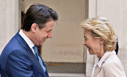 Inizia l'Era von der Leyen, a bruxelles primo summit europeo. Conte, chiediamo flessibilità per gli investimenti verdi