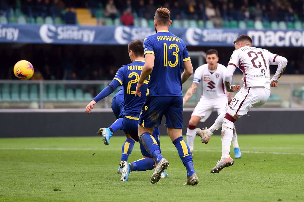 Verona-Torino 3-3, incredibile rimonta gialloblù