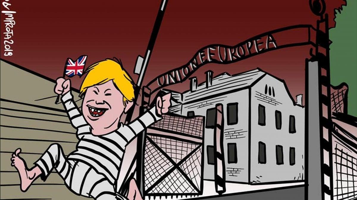 """""""Ue come Auschwitz"""", e' polemica. Marione cambia fumetto"""