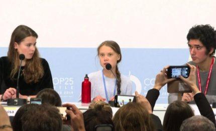 A Cop25 l'ira di Greta e degli attivisti dei Fridays for Future