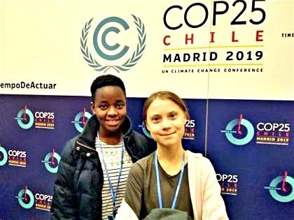 COP25, Greta: non abbiamo un minuto da perdere