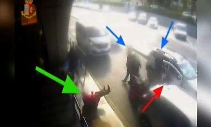 Tassista picchia passeggero, frattura setto nasale