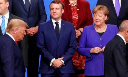 Vertice Nato concluso in baruffa, tensione fra Trump e Macron
