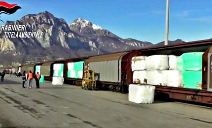 Scoperto traffico illecito di rifiuti verso la Bulgaria
