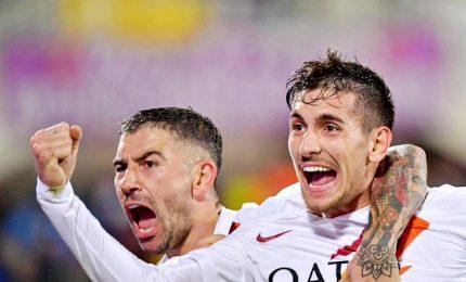 Goleada Roma a Firenze, Montella a picco