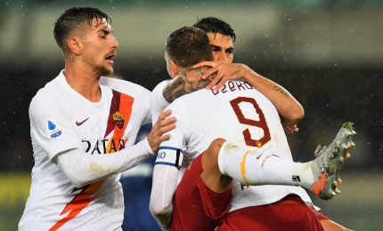 La Roma vince a Verona e vola al quarto posto