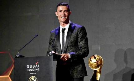 Cristiano Ronaldo vince il Globe Soccer Award 2019