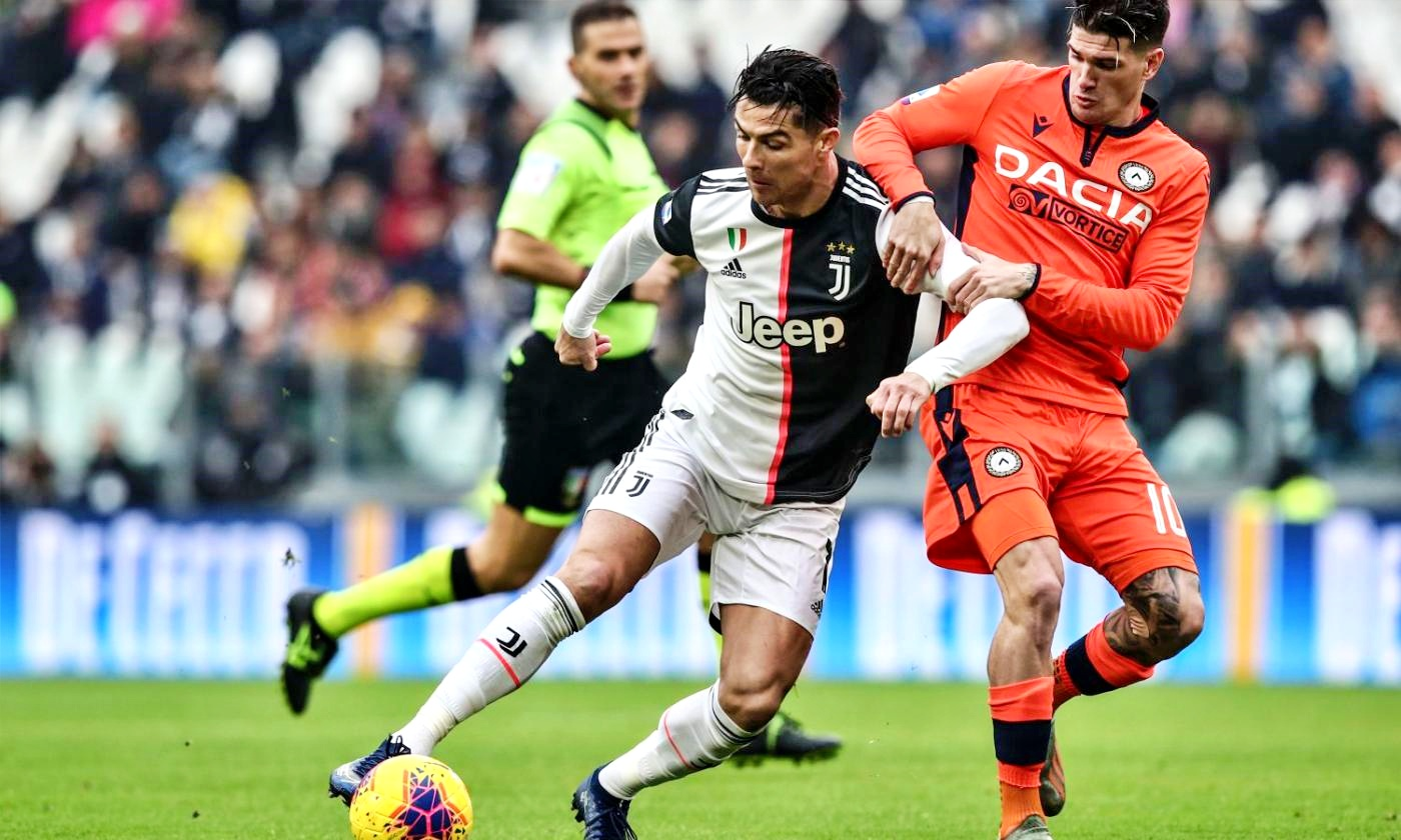 Juve vola col tridente, 3-1 all'Udinese