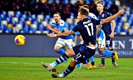 Pali, rigori ed espulsioni: il Napoli elimina la Lazio