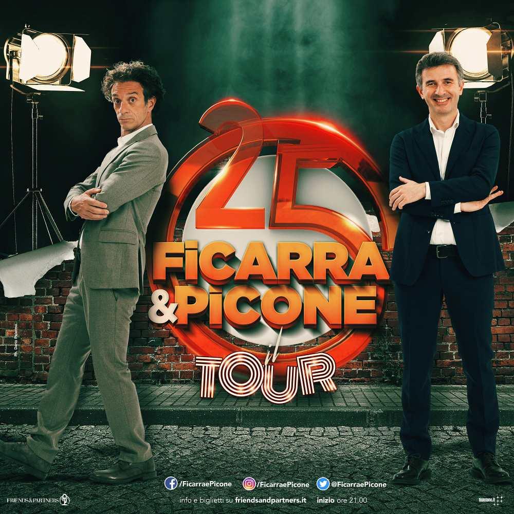 """""""Abbiamo fatto…25 anni"""", Ficarra e Picone all'Arena di Verona"""