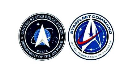 Gaffe spaziali di Trump, logo è quello di Star Trek