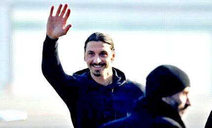 Ibrahimovic ha firmato contratto con Milan, ha scelto la maglia numero 21