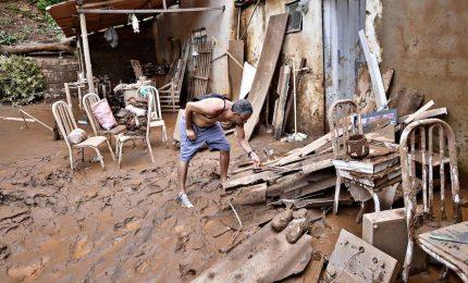 In Brasile piogge violentissime, almeno una trentina i morti