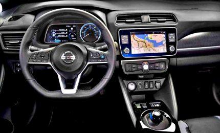Con Nuova Nissan Leaf e+, più autonomia e potenza