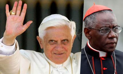 Giallo sul libro del cardinale Sarah. Ratzinger, via la mia firma. L'autore, Papa emerito sapeva