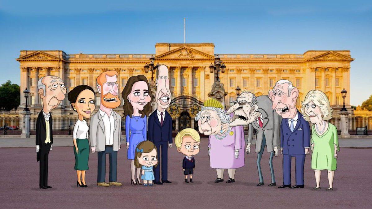 La storia della Royal family diventa una comedy animata